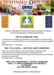 Siri Gopal Singh - Yoga e Gatka al Festival dell'Oriente a Cagliari