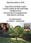 Yoga al Parco di Monte Urpinu - Cagliari - Mercoledì 30 Agosto 2017